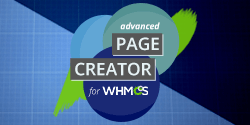 Advanced Page Creator (APC) for WHMCS